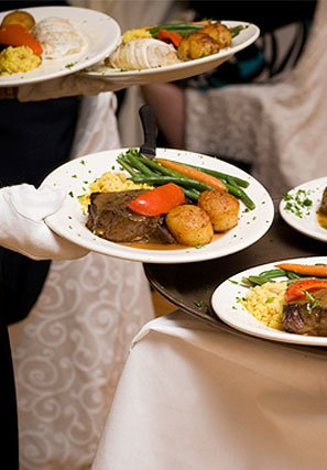 Plated Diners for weddings altoona pa